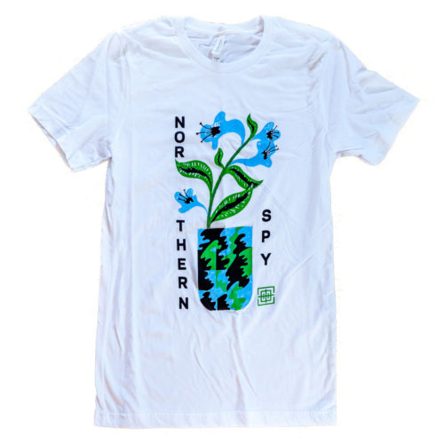 Northern Spy Records Potted Iris Tee