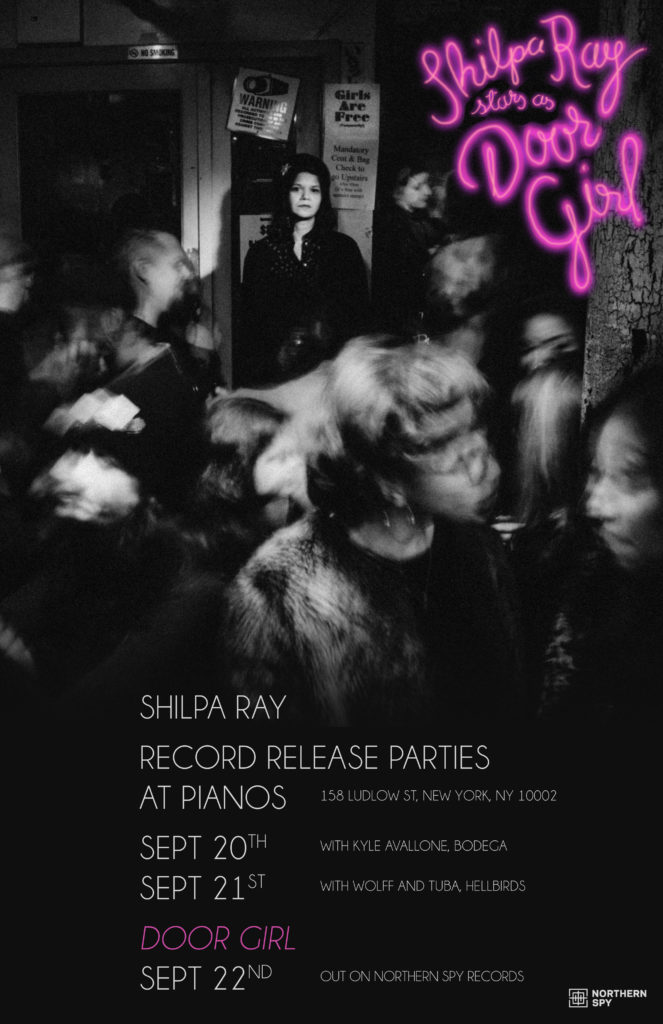 Shilpa Ray Record Release Parties at Pianos – Northern Spy Records