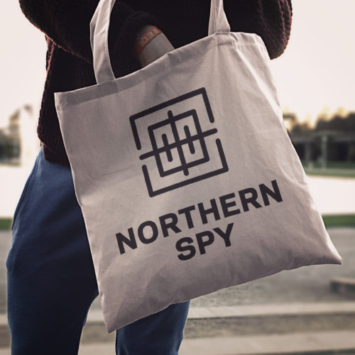 NSPY Logo Tote Bag
